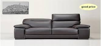 Fine italian leather furniture Lulubeddingdesign Original Italian Leather Sofa With Stainless Steel Ornament On Arm Leather Italia Italian Leather Sofas Leather Italia High Quality Italian Leather Sofas Made In Italy