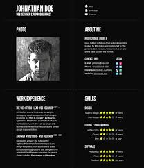 Able Online Resume Design Template Free Online Resume Bunch Ideas Of