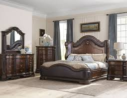 Elegant 6pc. Marble Top Bedroom Set | Bedroom Groups | D&L Furniture