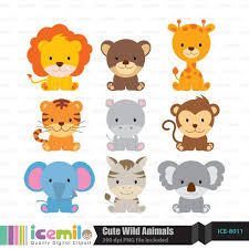 cute zoo animals clipart. Modren Animals Wild Animal Clipart Cute For Cute Zoo Animals Clipart A