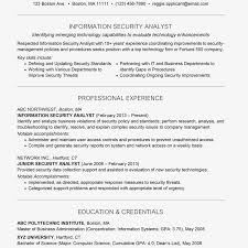 System Analyst Cover Letter Information Security Analyst Cover Letter And Resume