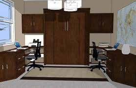 home office with murphy bed. Office Design Murphy Bed In Home With