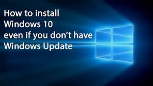 How To Download And Update Windows 10 Without Windows Update Youtube