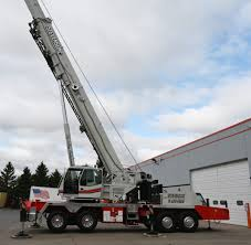 Stevenson Hydraulic Truck Crane Rental Link Belt Htc 86110