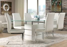 white and black dining room sets. Dining Room Set - White. Hover To Zoom White And Black Sets L