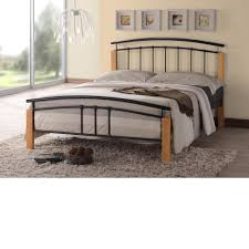 Small Double Bedroom Tetras Black Metal Bed Frame 4ft Small Double