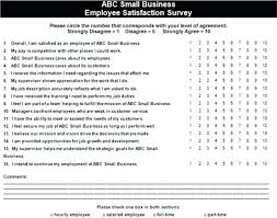 Small Business Questionnaire 6 Employee Engagement Questionnaire Template Questions Sample Survey