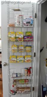 Kitchen Pantry Door Organizer Find Hidden Storage In Your Home Girl In The Garage