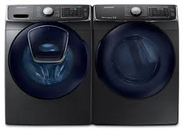 samsung steam washer and dryer. Modren And Samsung 52 Cu Ft FrontLoad Steam Washer And 75 Electric Dryer  U2013 Black Stainless SteelLaveuse  Chargement Frontal De 52 Pi Et Scheuse  Throughout And R