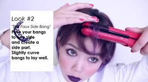 How I Style My New Hair Growing Out Straight Bangs Styles To