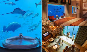 underwater hotel atlantis. Here\u0027s What A £5,500-a-night Luxury Underwater Suite Looks Like Hotel Atlantis