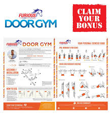 Furious Fitwear Door Pull Up Bar For Doorway Or Doorframe