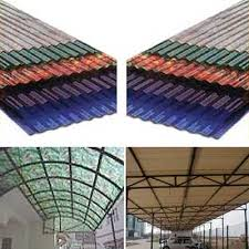 sequentia 120 x 26 clear corrugated fiberglass roof panel