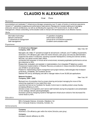 Information Technology It Resume Writing Service Technical