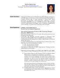 Free Resume Templates Example Of A Summary For University Career