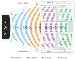 Citi Performing Arts Center Seating Chart 58 Organized Heymann Performing Arts Center Seating Chart