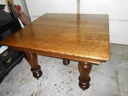 architecture glamorous antique round oak dining table 33 ana white quartersawn diy projects pedestal tiger clawfoot