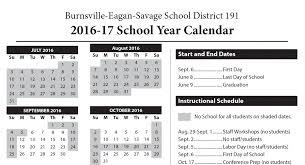 two year calender calendar isd 191
