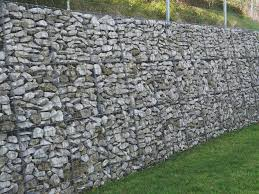 Gabion Walling Rock in Hampshire