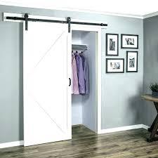 bypass sliding barn doors for closets door closet modern entryway office glass track sing bypass barn doors closet