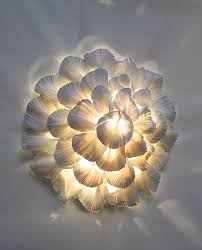 porcelain lighting. looks like my oyster mushroom style tile but in a flower form with light way porcelain lighting