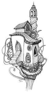 Small Picture fairy tree house coloring pages Google Search adult coloring
