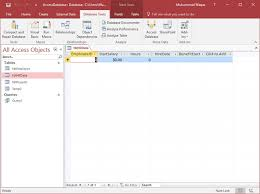 database tools ms access one to one relationship