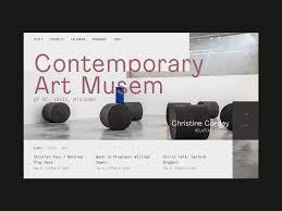 St Louis Web Design Contemporary Art Museum Of St Louis By Matt Mckenna For