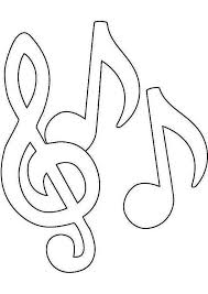 Music Notes Coloring Pages For Kids Coloringstar