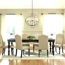 size of chandelier for dining table long dining room chandeliers dining room chandelier height large size size of chandelier for dining table