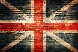union jack on old brick wall mural wallsauce uk