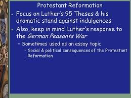 ap atilde ro review ppt protestant reformation