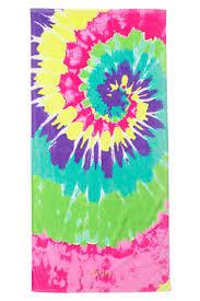 towel for kids. Kids Swirl Tie Dye Beach Towel For K