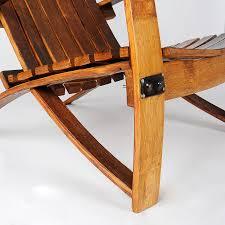 furniture made from wine barrels. Wine Barrel Chair Made With Reclaimed Barrels-1 Furniture From Barrels R