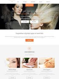 Hair Saloon Websites Salon Templates Websites