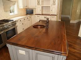 wood island countertop