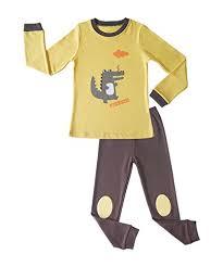 Chus Shoes Size Chart Little Boys Dragon Cartoon Printed Pajamas Set Mai Chus