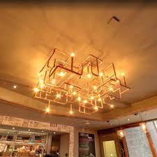 industrial pipe lighting. Copper Flush Industrial Pipe Fitting Lighting I