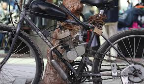 are petrol powered bicycles above the law in australia
