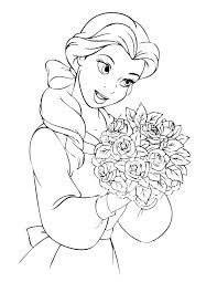 Small Picture disney princesses belle coloring pages and coloring for kids and