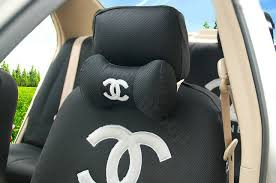 louis vuitton leather car seat covers