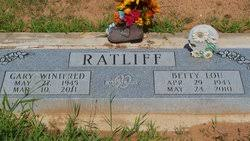Betty Lou Moore Ratliff (1943-2010) - Find A Grave Memorial