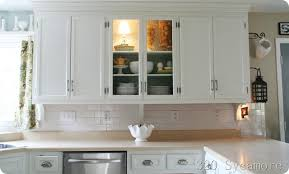 White Kitchen Cabinets With Black Countertops Adorable Black And White Kitchen Remodel With Painted Cabinets