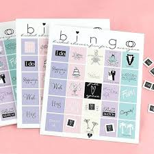 Wedding Bingo Words Bridal Shower Bingo Mirinoi Info
