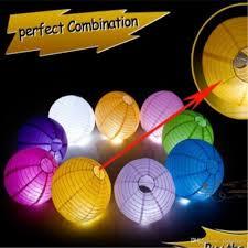 6 8 10 12 Chinese Led Paper Lantern Round Lamp Wedding Decor Glim Festival Decoration Lampion Party Supplies 100pcs Lot
