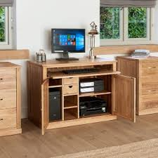 home office hideaway. Beautiful Hideaway Mobel Oak Hidden Home Office Workstation For Hideaway U