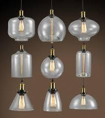 edison bulb lighting fixtures. $86.00- Galss Lampshade Retro Loft Style Industrial Pendant Lighting Fixtures Vintage Lamp Edison Bulb Light D