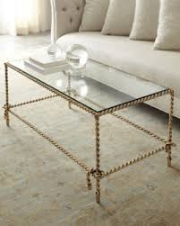 Brass Tassle Rope Coffee Table At Horchow.