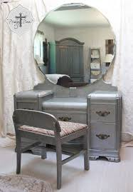 antique vanity desk amazing antique vanity table with mirror and bench 60 for your