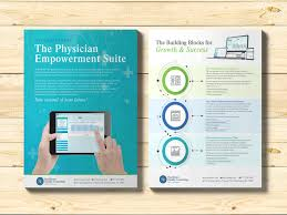 Meeting Flyer Design Medical Software Flyer Brochure Builders Brochure Design
